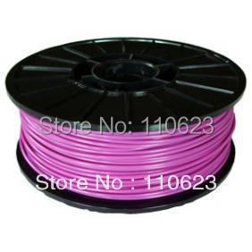 Hotsale reprap 3D Printer ABS Filament 3mm 1kg/roll Purple<br><br>Aliexpress