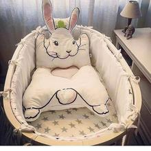 Rabbit Carpet Game Pad Kids Playmats Baby Crawling Blanket Gym Play Mat Floor Carpet cushion For Baby crib Room decoration R4(China)