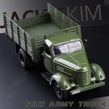 1:36 1pc 19cm delicacy simulation military truck Acousto-optic alloy car model home decoration boy children toy baby Gift(China)