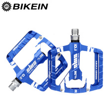 BIKEIN Cycling Mountain Bicycle MTB Ultralight Pedals 3 Sealed Bearing CNC Aluminum Platform 9/16 Inch Flat Pedals Bike Parts