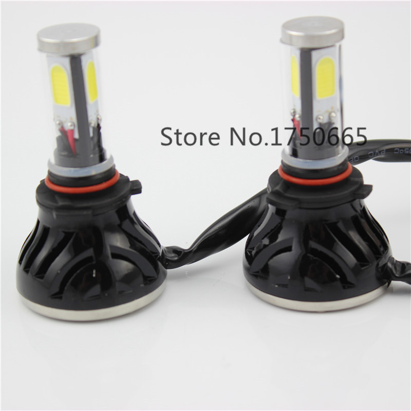 COB LED Car Headlight Bulb 9005 HB3 H10 40W High Power LED Head Fog DRL Light Lamp 12V 24V Play and Plug Replacement Bulb<br>
