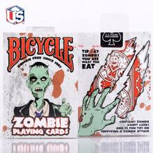 1 Deck Bicycle Zombies Standard Poker Playing Cards Sealed New Zombie Edition Poker Art Magic Performance Deck Magic Props