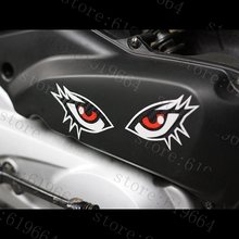 car styling car stickers cartoon sexy motorcycle electric motor trolley luggage car stickers stickers case for ford KIA