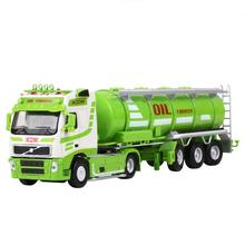 kids toys for children kaidiwei 1:50 scale model car diecast car model blaze car toy oil tank truck 625028(China)