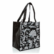 Custom bag Promotioanal Reusable Grocery Totes with Extra Reinforced Handles
