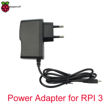 5V 2.5A Raspberry Pi 3 Power Adapter for RPI 3 Model B Power charger with EU US UK Plug and Micro USB Port