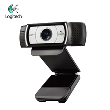 Logitech C930E 1920*1080 HD Garle Zeiss Lens Certification Webcam with 4Time Digital Zoom Support Official Verification for PC(China)