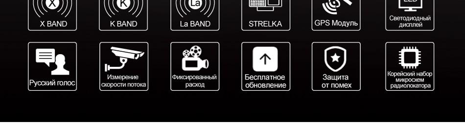 Ruccess STR S900 Radar Detectors Led 2 in 1 Radar Detector for Russia with GPS Car Anti Radars Police Speed Auto X CT K La (3)