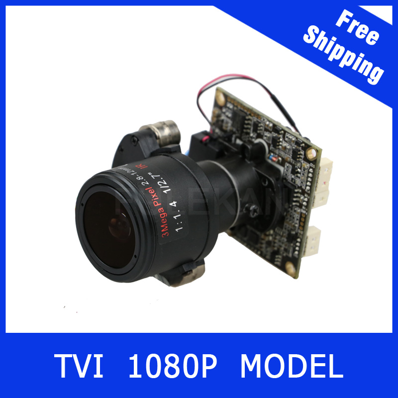 Motor Camera TVI 1080P 2.8-12mm Zoom &amp; Auto Focal Lens PTZ 2MP module board<br>