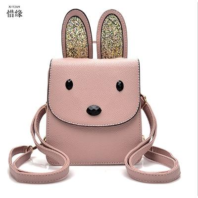 Women pink Backpack Leather black Backpacks Softback Bags Brand cute Preppy Style Bag Casual Backbag Teenagers blue Backpack Sac<br>