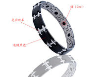 2016 New 4in1 Bio 316L Stainless Steel Energy Magnetic Health Bracelet&Bangle Germanium Negative Ion Infrared Care For Men Women