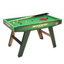 kids toy small size snooker table for kids genuine wooden billiard ball mini snooker for children(China)
