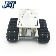 JMT Smart Track Car 2wd Tracker Crawler Robots DIY Chassis Tank Caterpillar Vehicle Platform for Arduino(China)