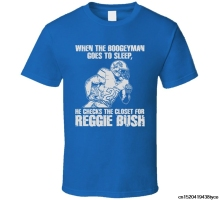 Jzecco Reggie Bush Detroit City Footballer Runer Back Boogeyman T Shirt(China)