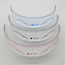10Pcs Permanent Makeup Stencils Plastic Eyebrow Ruler KMC Tattoo Cosmetic Shaping Tool For The Beginers