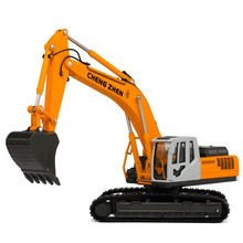 Alloy Excavator Toy Die cast Metal Car Model Kids Truck Toys For Children