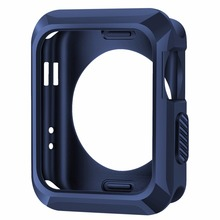 Shockproof Silicone Rubber Gel Skin TPU Soft Cases Covers Apple iWatch 38mm 42mm without Screen Protector - China High itech corporation Limited store