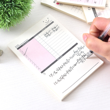 15 X 10.5 Cm Notebook Note Pads To Do List Check List Daily Planner Stickers Post Its Office Supplies Accessories Stationery(China)