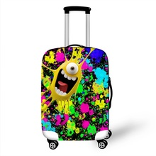 3D Cartoon Travel Luggage Protective Covers Dust Protection Cover Durable Suitcase Cover For Trunk Case  18''~28'' Inch Suitcase