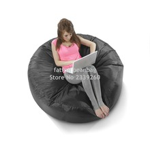 Cover only No Filler- 	black island bean bag chair, outdoor sofa cover , competer chair