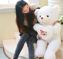 Free Shipping Large 90cm Teddy Bear Stuffed Animals Toys Plush Doll, Giant Stuffed Bear Plush Toy,Kids Bear Christmas gift
