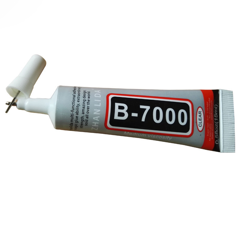 Multi Purpose B7000 Glue 15ml B-7000 Adhesive Clear Jewelery Epoxy Resin Diy Jewelry Crafts Glass Touch Screen Cell Phone Repair(China (Mainland))