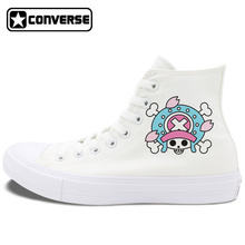 Converse Chuck Taylor II Black White All Star Shoes One Piece Chopper Mens Womens Canvas Sneakers High Top Skateboarding Shoes