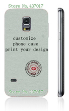 diy customize own design logo photo case hard plastic back cover case for Samsung galaxy s5 mini,free shipping