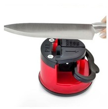tungsten steel Knife Sharpener with suction pad Scissors Grinder Secure Suction Chef Pad Kitchen Sharpening Tool(China)