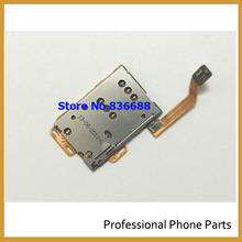 New Sim Card Slot Holder With Flex Cable Replacement Parts for Nokia C7-00 C7 701 replacement(China)