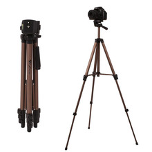 Load Up to 2.5kg Professional Camera Tripod Aluminum Alloy Tripods Stand Holder with Quick Release Plate Rocker Arm
