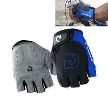 Cycling Gloves Men Sports Half Finger Anti Slip Gel Pad Motorcycle MTB Road Bike Gloves S-XL Bicycle Gloves 3 Colors