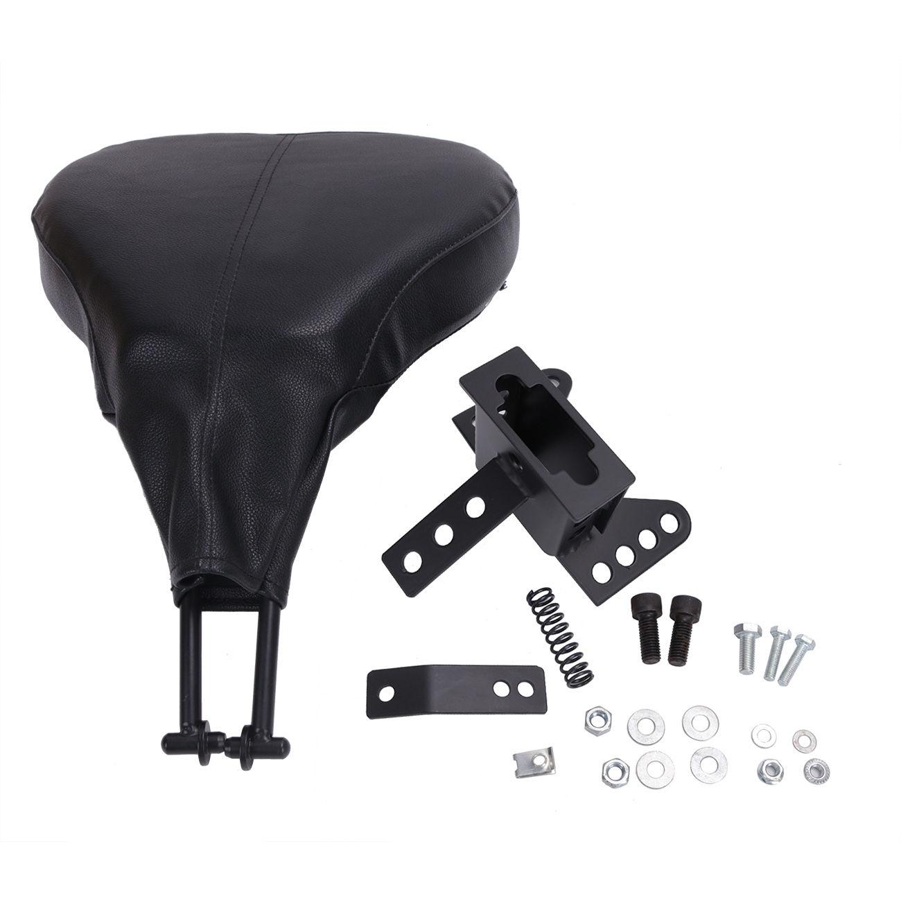 High Quality Leather Seat Adjustable Driver Rider Backrest For Harley 1988 - 2008 Touring EFI FLHT Back Rest Motorcycle MB125<br><br>Aliexpress