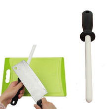 8 inch Ceramic Zirconia Rod Knife Sharpener with ABS Handle Durable Sharpening for Chefs Steel Knives Kitchen Assistant Helper