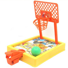 Hot!1Piece Children shooting mini fancy ball games toy ball parent-child interaction family event table basketball toy(China)