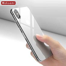 "Mokoemi Ultra Thin Slim Clear Transparent Soft TPU 5.8""For Apple iPhone X Case For iPhone X Phone Case Cover(China)"