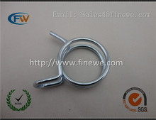 Manufacture Custom wire formed spring metal Tube hose spring clamps linear spring  wire spring