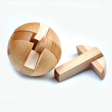 Intelligence Kong Ming Luban Locks Old China Ancestral Locks Traditional Wooden Brain Teaser Puzzle Educational Toys Magic Cube(China)