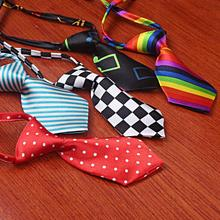 Hot Sale Pet Cat Accessories Neckties Groom New Colorful Adjustable Product For Dog Handsome Small dog ties necktie pet Dog(China)
