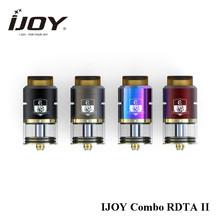Newest Original IJOY Combo RDTA 2 6.5ml Side Filling System Single Coil Option RDTA Tank Atomizer for Ijoy Captain PD270 Mod