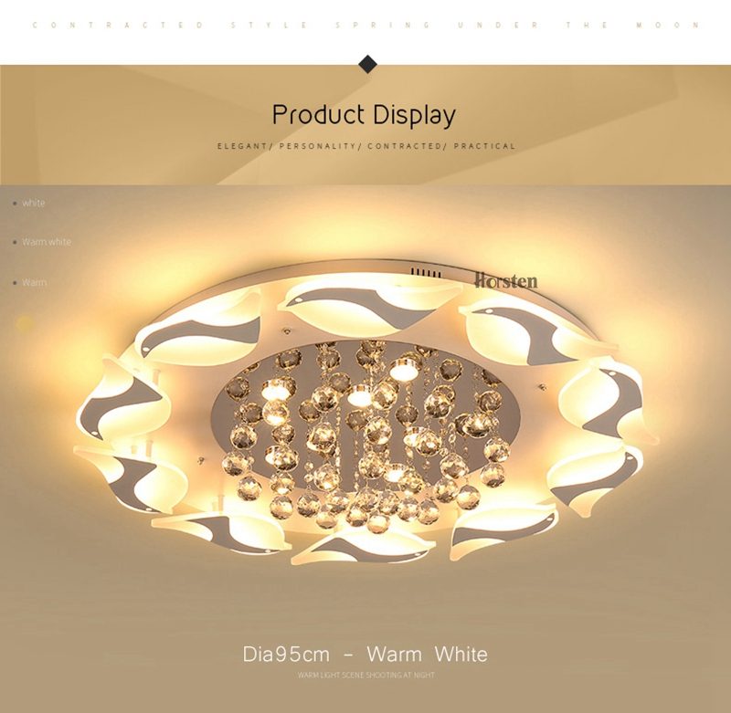 Modern Luxury Bird Crystal Ceiling Lamps With Remote Controller Dia957555cm Crystal Ceiling Chandelier For Living Room Bedroom (11)