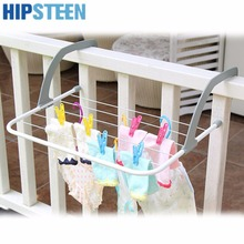 HIPSTEEN Multifunction Indoor & Outdoor Folding Clothes Rack Drying Laundry Hanger Dryer - White