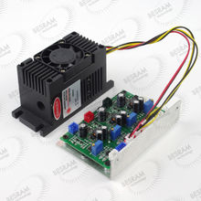 12V 500mW 650nm Red Dot Focusable Laser Diode Module Analog/TTL for Stage Lighting Effect(China)