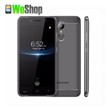Homtom HT37 Pro Mobile Phone 5.0 Inch HD Double Speaker Mtk6737 Quad Core Android 7.0 3GB+32GB 3000mAh Fingerprint 4G Smartphone(China)