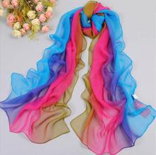 Free shipping 100% silk feeling polyester scarf Chiffon shawl Quality scarves Cheap shawls   wholesale retail Muslim Hijab New