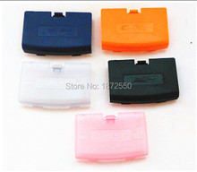 Band New 5 pcs/Lot Multi-color Battery Pack Back Door Cover Case Shell Box Replacement for GBA Console Girl / Boy Gift