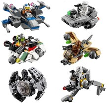 Lepin STAR WARS Rogue one Warship Spaceship Microfighters Building Blocks Bricks Compatible Starwars figures toys - Myesoul Store store