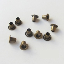 500PCS 1.5mm Bronze Metal Eyelets Scrapbooking Embellishment Garment Clothes Puppies Dolls Cards Paper Handmade Decoration(China)