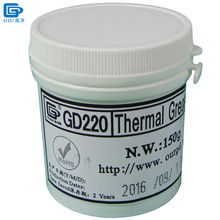 GD Brand Thermal Conductive Grease Paste Silicone Compound GD220 Heatsink Plaster Net Weight 150 Grams Gray For CPU Cooler CN150(China)
