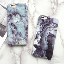 LOVECOM New Hot Granite Marble Texture Phone Soft TPU Back Cover Phone Case For iPhone 6 6S 7 7 Plus Mobile Phone Bags & Cases